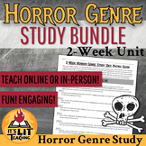 Horror Genre Study Unit for Digital or In-person