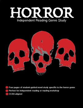 Exploring the Horror Genre (independent reading log)