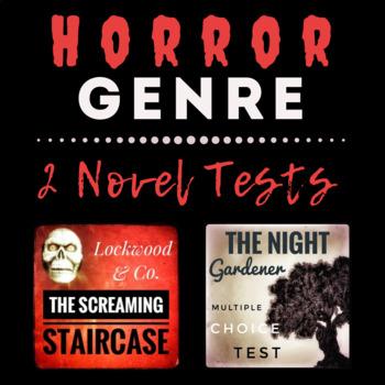Horror Novel Genre -- 2 Multiple Choice Tests