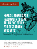 Horror Stories for Halloween (Edgar Allan Poe Study for Se