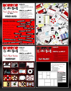 UPDATED Horror & Suspense Bundle + BONUSES! (Common Core Aligned)