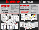 Horror & Suspense Extension Bundle - 8 Common Core Aligned Activities TOTAL