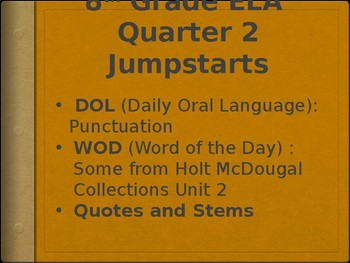 Horror Unit Daily Vocab and Grammar Instruction for Halloween and Qtr 2