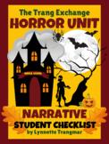 Horror Unit:  Narrative Student Checklist