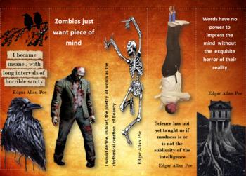 Horror author bookmarks