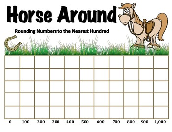 Horse Around - A 2-Player Game to Round Numbers to the Nea