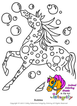 Horse Coloring Pages - Vol. 3 - Fantasy Genre - 8 Fun Coloring Sheets!
