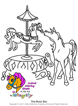 Horse Coloring Pages - Vol. 4 - Fantasy Genre - 8 Fun Coloring Sheets!