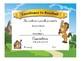 Horse/Colt/Mustang Award Certificates -Standard