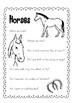 Horse Day Pack { Freebie }