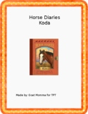 Horse Diaries- Koda Novel Literature Guide