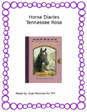 Horse Diaries- Tennessee Rose Novel Literature Guide