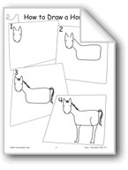 Horse (Draw Then Write)