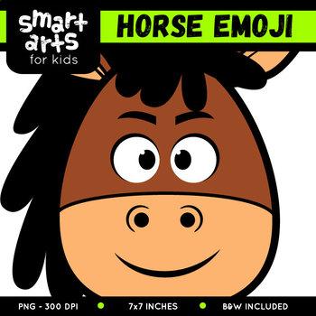 Horse Emoji Clip Art