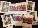 Horse Fine Art Three Part Cards (Montessori inspired)