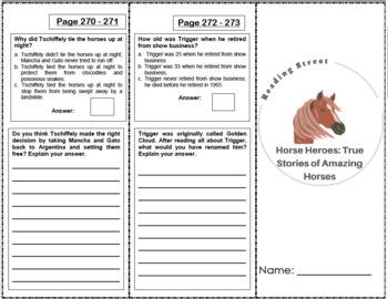 Horse Heroes: True Stories of Amazing Horses - 4th Grade Reading Street
