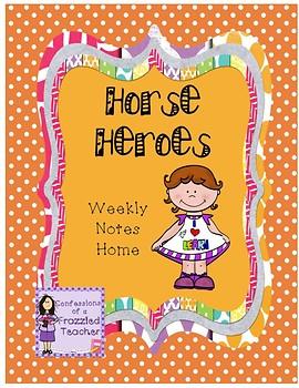 Horse Heroes Weekly Letters (Reading Street)
