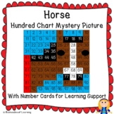 Horse Hundred Chart Mystery Picture (Kentucky Derby; Farmi