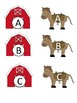 Horse Letter Matching Activity
