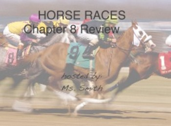 Horse Race: Factoring Review Game