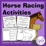 Horse Racing Activities- Perfect for Melbourne Cup