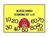Counting by 10's (A horse themed center)