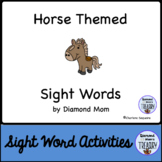Horse Themed Dolch Sight Words