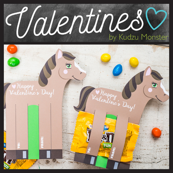 Horse Valentine Candy Holder