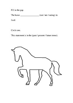 Horse Verbs and Tenses Handout