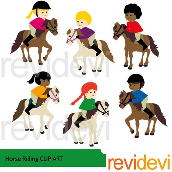 Horse riding clip art - Equestrian