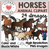 Horses Animal Clipart by Clipart that Cares