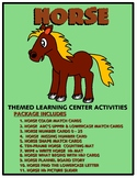 Horses Kit One  - Themed Learning Center Activity Kit