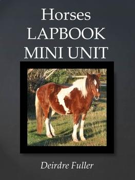 Horses Lapbook/Mini Unit