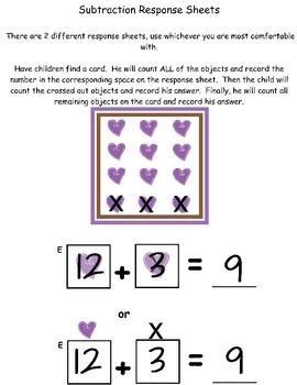 Horsin' Around Math Write the Room