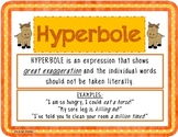 Hyperbole Task Cards Center Activity Packet