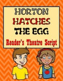 Horton Hatches the Egg Reader's Theatre Script 2nd 3rd 4th 5th