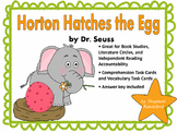 Horton Hatches the Egg by Dr. Seuss Comprehension and Vocabulary Task Cards