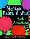 Horton Hears A Who! Book Activities