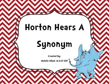 Horton Hears a Synonym