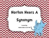 Horton Hears a Synonym