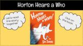 Horton Hears a Who: Dr. Seuss- Character Traits