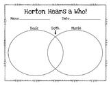 Horton Hears a Who Venn Diagram