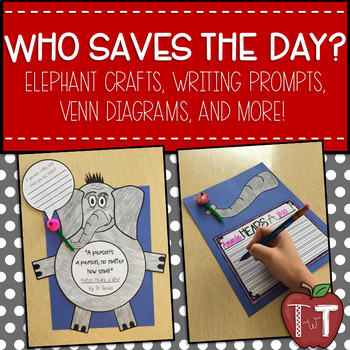 Horton and the Who Craft and Writing Prompt
