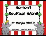 Horton's Seussical Words