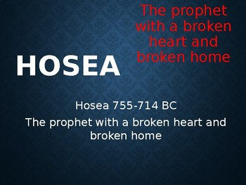 Hosea Power Point Notes