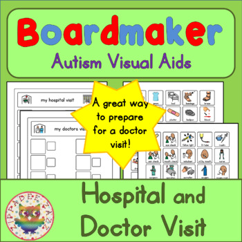 Hospital / Doctors Visit Routine - Boardmaker Visual Aids