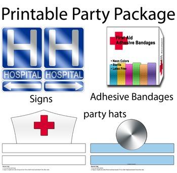 Hospital Dramatic Play Printables