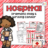 Hospital Dramatic Play and Writing Center