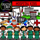 Hospital Kids {Creative Clips Digital Clipart}