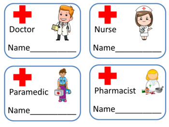 Hospital Role Play Area   -  29 Fun Printables